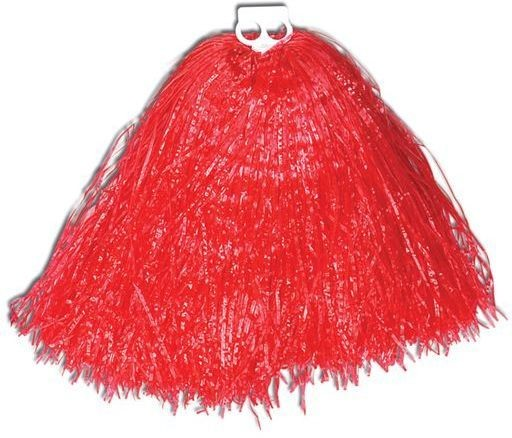 Pom Pom. Jumbo, Usa Red (School Fancy Dress)
