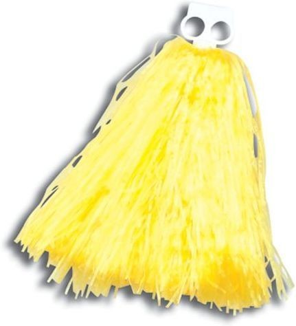Pom Pom. Small. Yellow (School Fancy Dress)