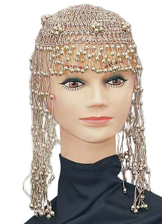 Ladies 20'S,70'S,Abba,Cleopatra Egyptain Headpiece Fancy Dress Accessory