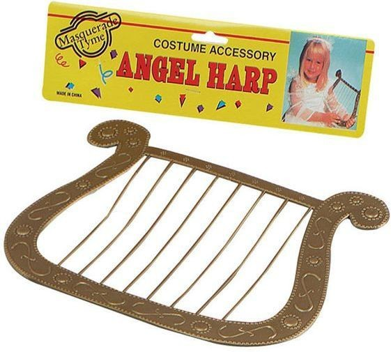 Angel Harp (Christmas Fancy Dress)