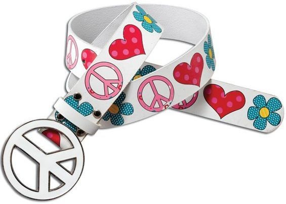 Peace (Hippy) Belt (1960S Fancy Dress)
