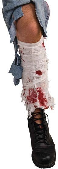 Bloody Leg Bandage (Halloween Fancy Dress)