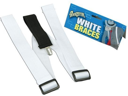 Braces White (1920S Fancy Dress)