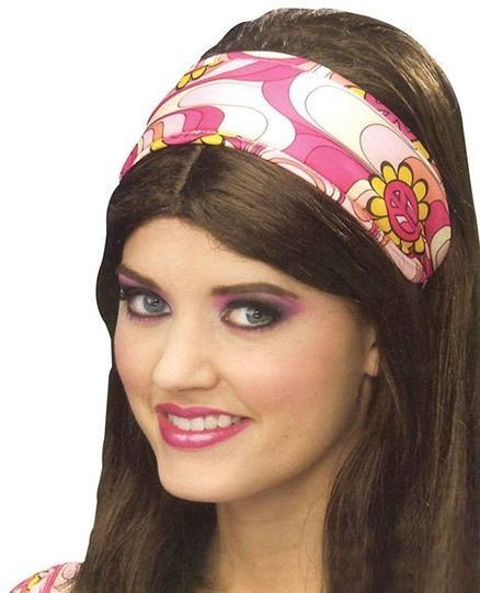 Flower Power Headband (1960S , 1970S Fancy Dress)