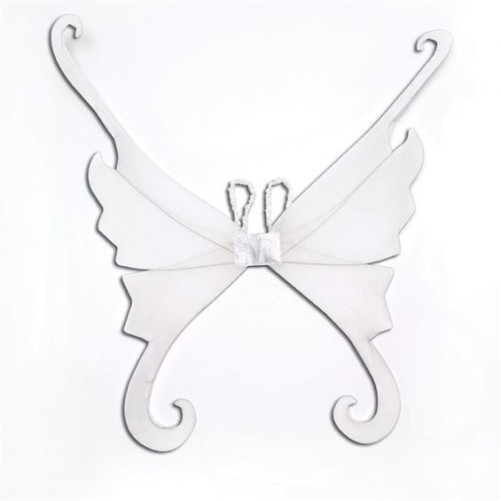 Fantasy Wings. White (Fairy Tales , Animals Fancy Dress Disguises)