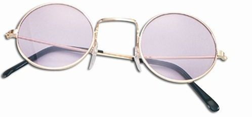 Lennon Glasses. Purple (1960S , 1970S Fancy Dress Glasses)