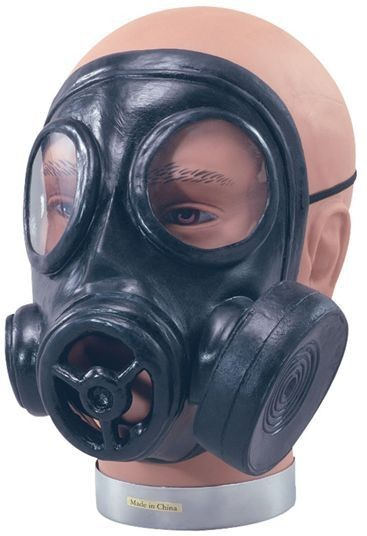 Gas Mask. Rubber (Halloween , 1920S Masks)