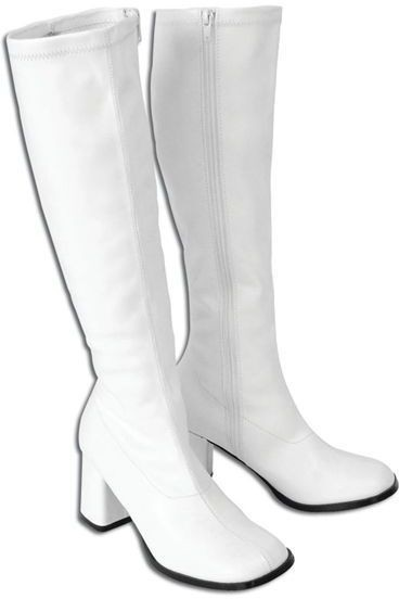 High Boots Womens White Improved (Fancy Dress Shoes)