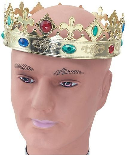 Regal Crown (Royalty , Medieval Fancy Dress Hats)