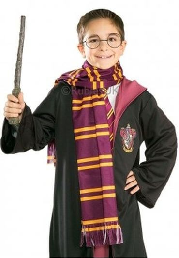 Offical Harry Potter Gryffindor Scarf Fancy Dress Accessory
