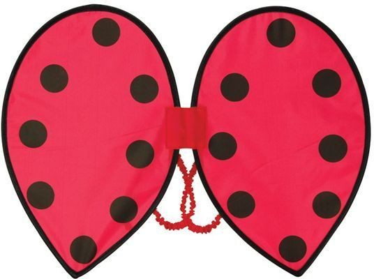 Ladybird Wings (Animals Fancy Dress Disguises)