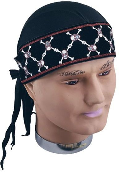 Pirate Bandana Deluxe (Pirates Fancy Dress)