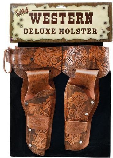 Holster. Deluxe Cowboy (Cowboys/Native Americans Fancy Dress Guns)