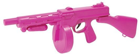 Tommy Gun. Pink (1920S Fancy Dress Guns)