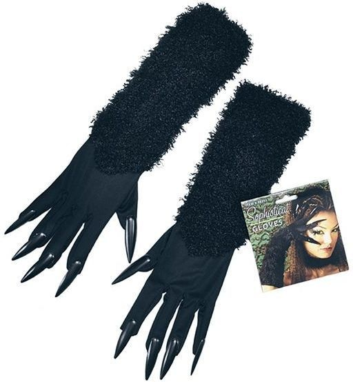 Cat Gloves With Claws (Animals , Halloween Gloves)