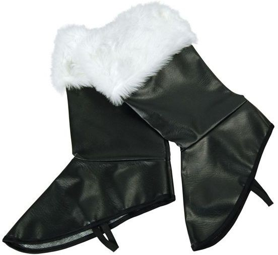 Santa Pvc Boot Covers (Christmas Shoes)