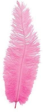 Chick Feathers Pink 10/Pkt (1920S , Burlesque Fancy Dress)