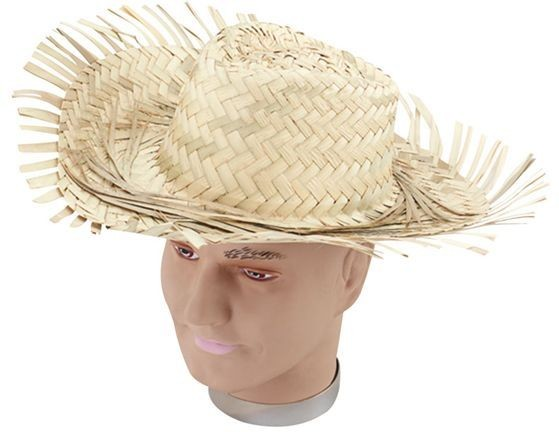 Beachcomber. Men'S Straw Hat (Hawaiian Fancy Dress Hats)