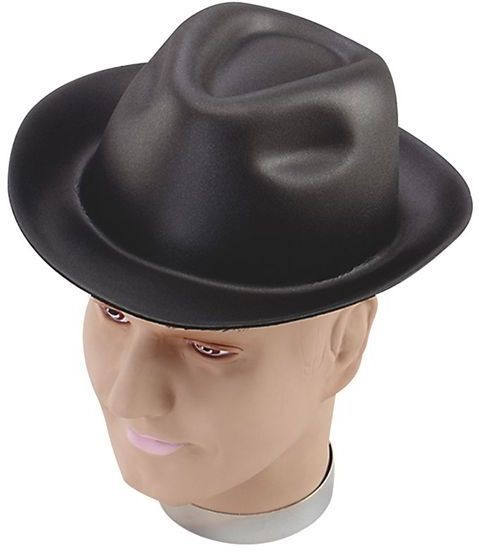 Gangster Hat. Foam (1920S Fancy Dress Hats)