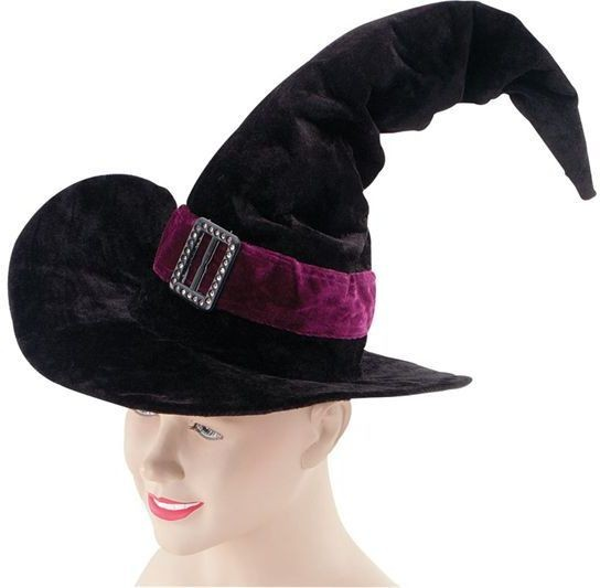 Witch Hat Velvet / Belt / Buckle (Halloween Hats)