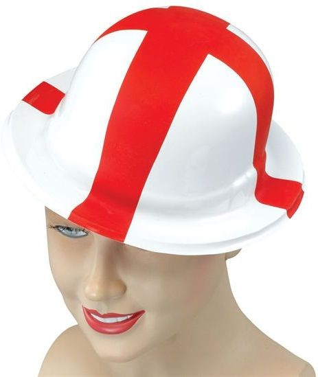 St George Plastic Bowler (Cultures Fancy Dress Hats)