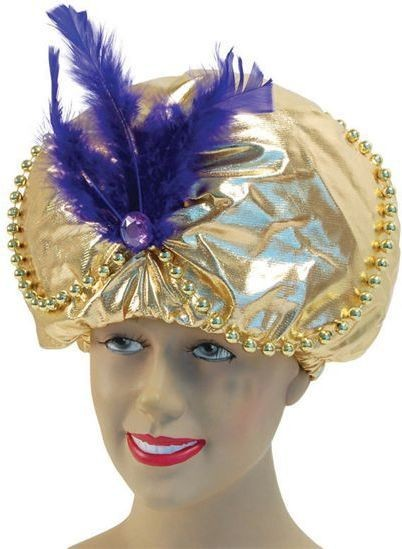 Arabian Hat. Beads + Jewels (Cultures , Fairy Tales Fancy Dress Hats)
