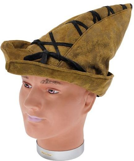 Robin Hood Hat. Distressed Look (Medieval , Fairy Tales Fancy Dress Hats)