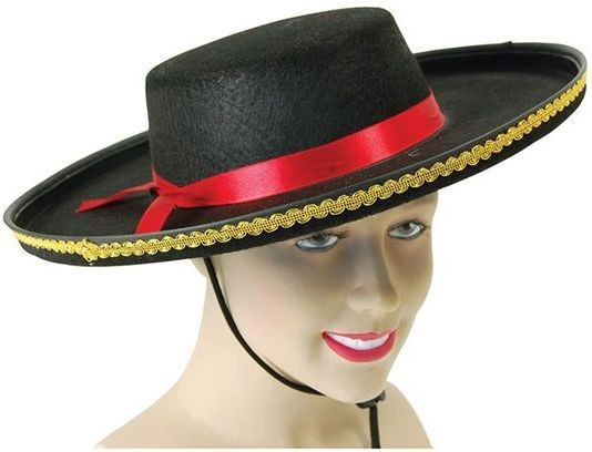 cafa4756d70 Buy Spanish Felt (Spanish Fancy Dress Hats) - Largest online fancy dress  range in the UK - Price Guarantee   FREE Delivery