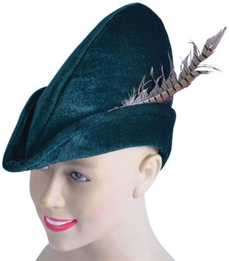 Robin Hood Hat. Soft Felt (Fairy Tales , Medieval Fancy Dress Hats)