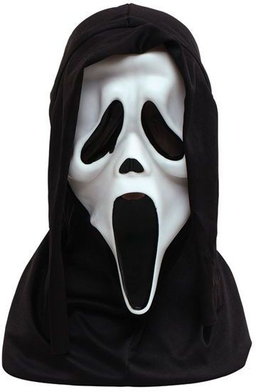 Scream Mask White (Halloween Masks)