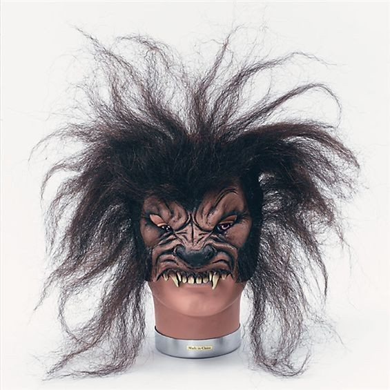 Wolfman Frontal Mask (Halloween Masks)