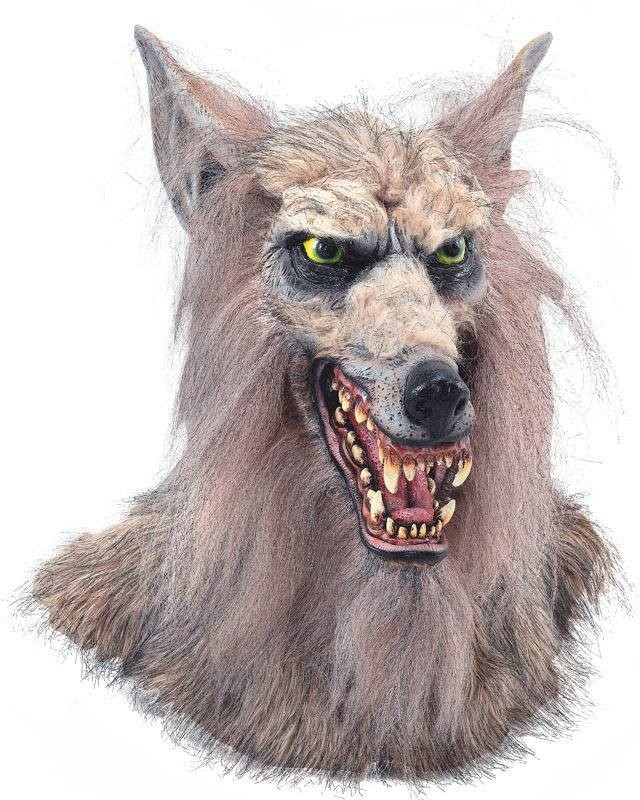 Wolf Mask (Collectors Quality) (Animals , Halloween Masks)