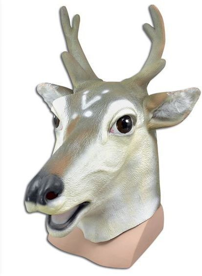 Stag / Deer Mask (Hen & Stag Fancy Dress Masks)