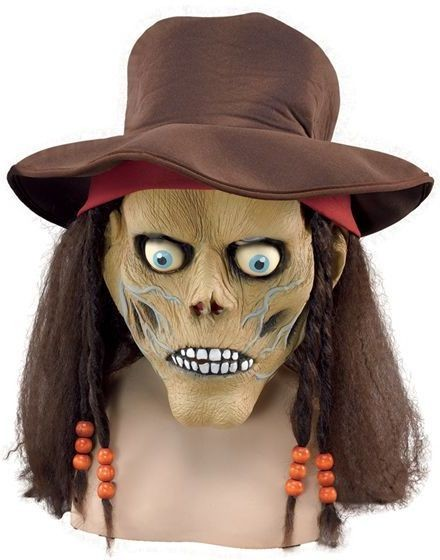 Zombie Mask, Hat + Hair (Halloween Masks)
