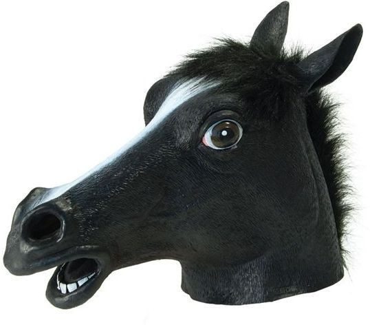 Black Beauty (Horse) (Animals Fancy Dress Masks)