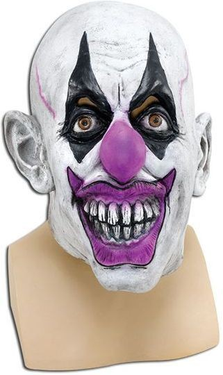 Scary Clown (Clowns Fancy Dress Masks)