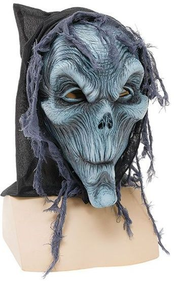 Hooded Zombie Mask (Halloween Masks)