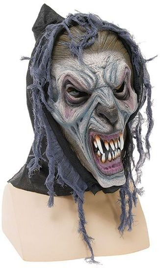 Hooded Wolfman Mask (Halloween Masks)