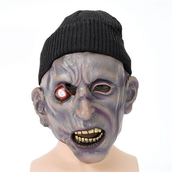 Zombie Mask + Hat. One Eye (Halloween Masks)