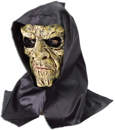 Undead Man + Black Hood (Halloween Masks)