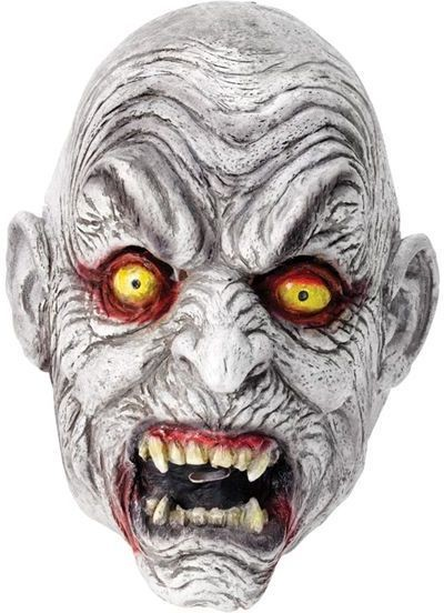 Dracula Mask. White (Halloween Masks)