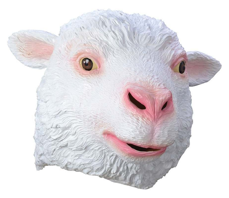 Sheep Rubber Mask