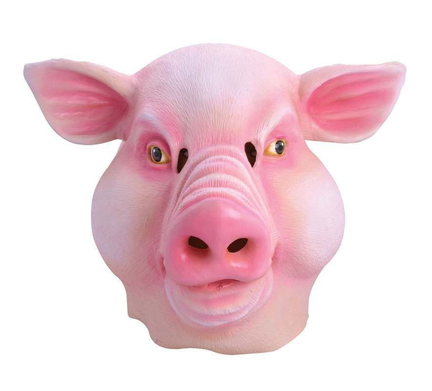 Pig (Fat Face) Rubber Mask