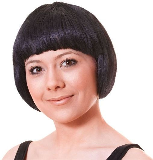 China Doll Black Budget Wig (1920S Fancy Dress Wigs)