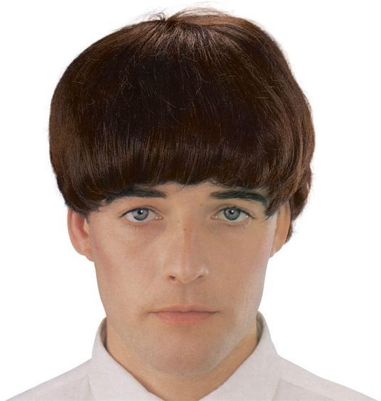 Beatles Wig. Brown (1960S Fancy Dress Wigs)