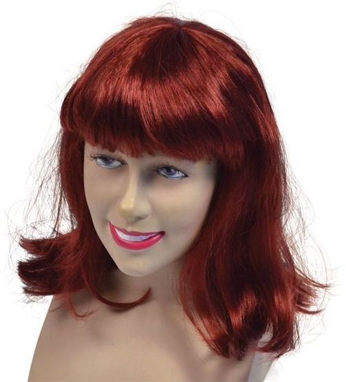 Cheerleader Wig. Auburn Best (Fancy Dress Wigs)