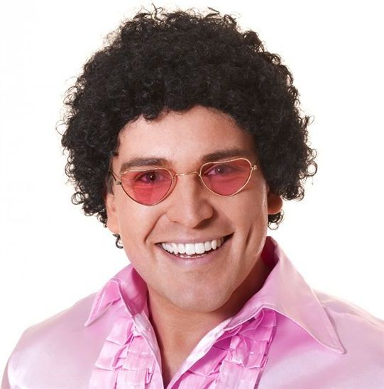 Afro Wig. Very Tight Curls (1970S Fancy Dress Wigs)