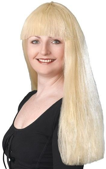 "Fringe 24"" Blonde Budget Wig (Fancy Dress Wigs)"