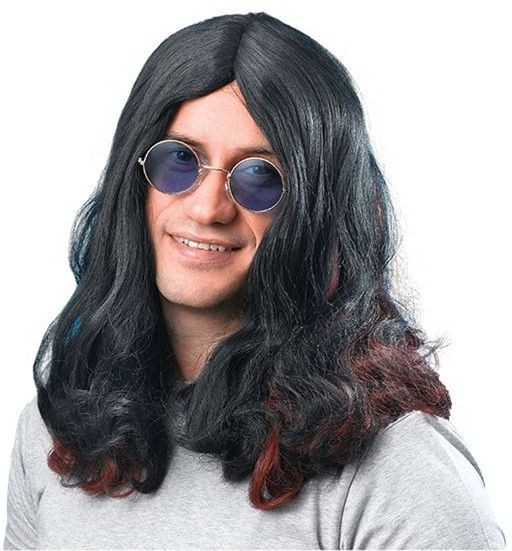 Ozzy Osbourne Wig. (1960S Fancy Dress Wigs)