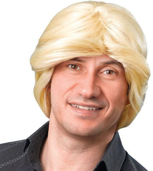 Tony Wig. Blonde (Fancy Dress Wigs)
